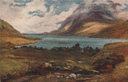 'The Pass of Kylemore' by Francis Sylvester Walker. Ireland 1905 old print